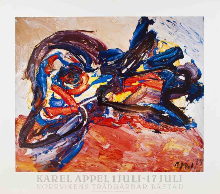 Karel Appel - Oiseau