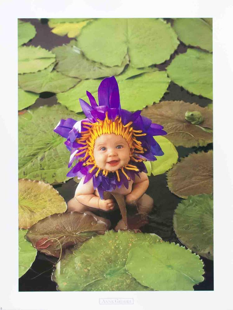 Anne Geddes - Baby Pond - 1999