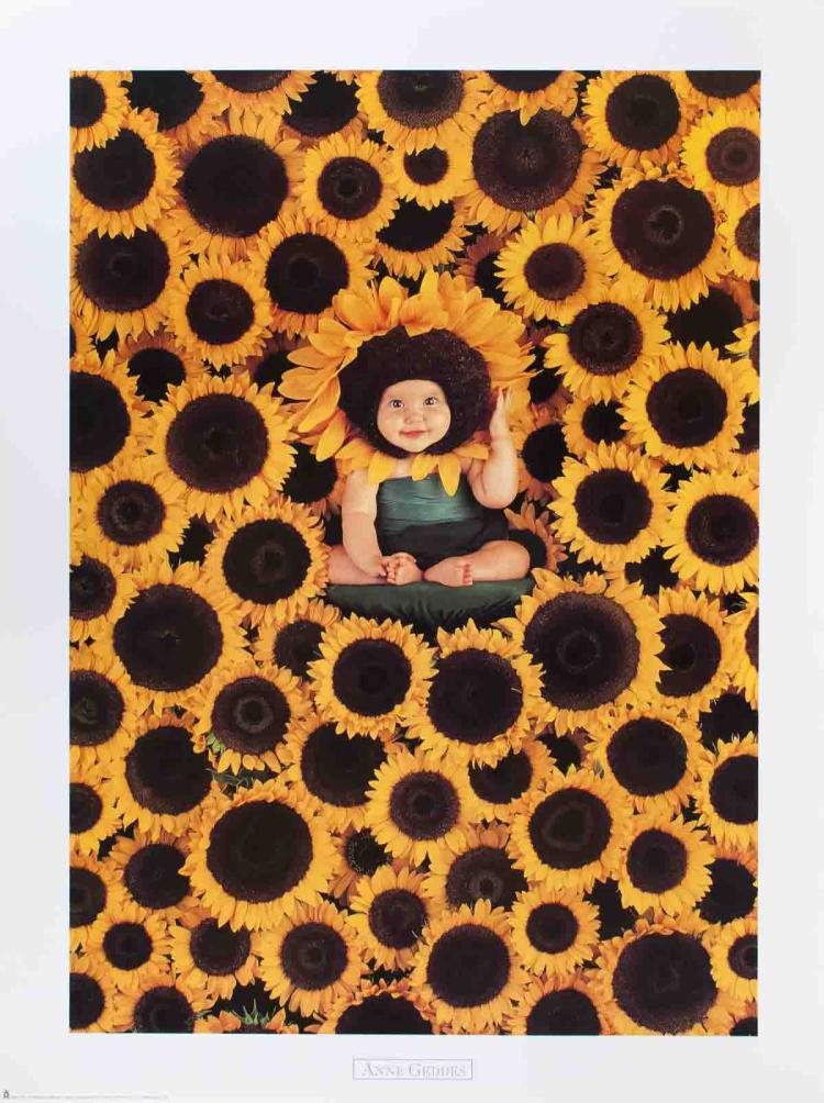 Anne Geddes - Sunflower - 1999