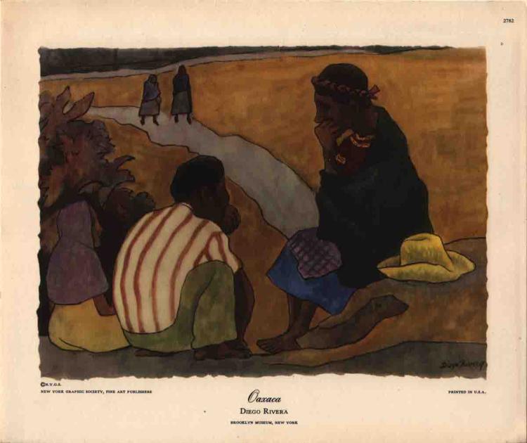 Diego Rivera - Oaxaca