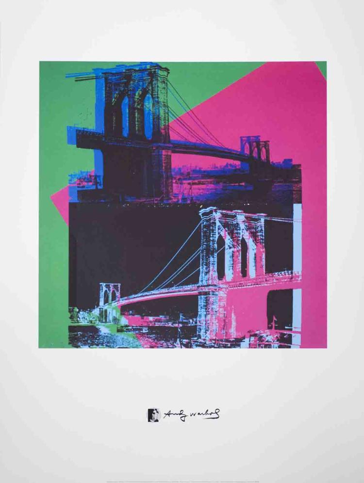 Andy Warhol - Brooklyn Bridge - 2010