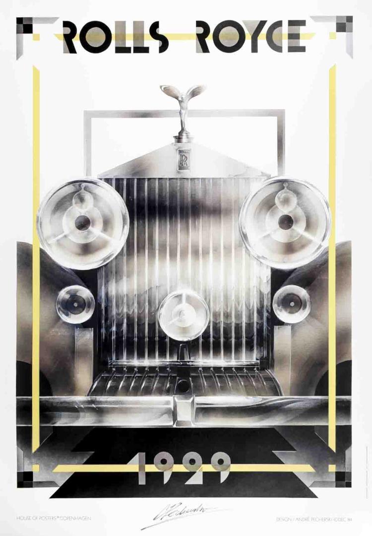 Andre Pecherske - Rolls Royce - 1984