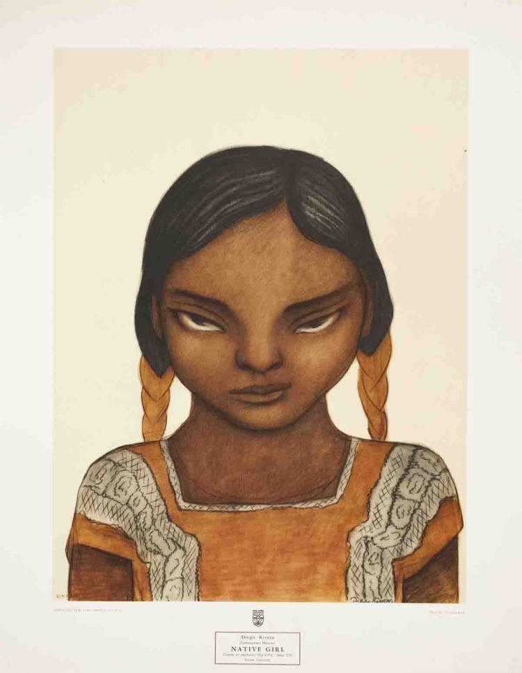Diego Rivera - Native Girl