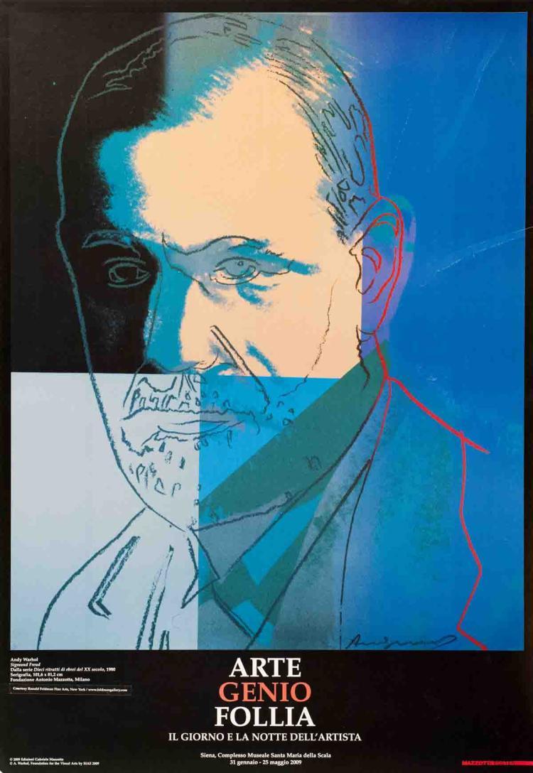 Andy Warhol - Sigmund Freud - 2009