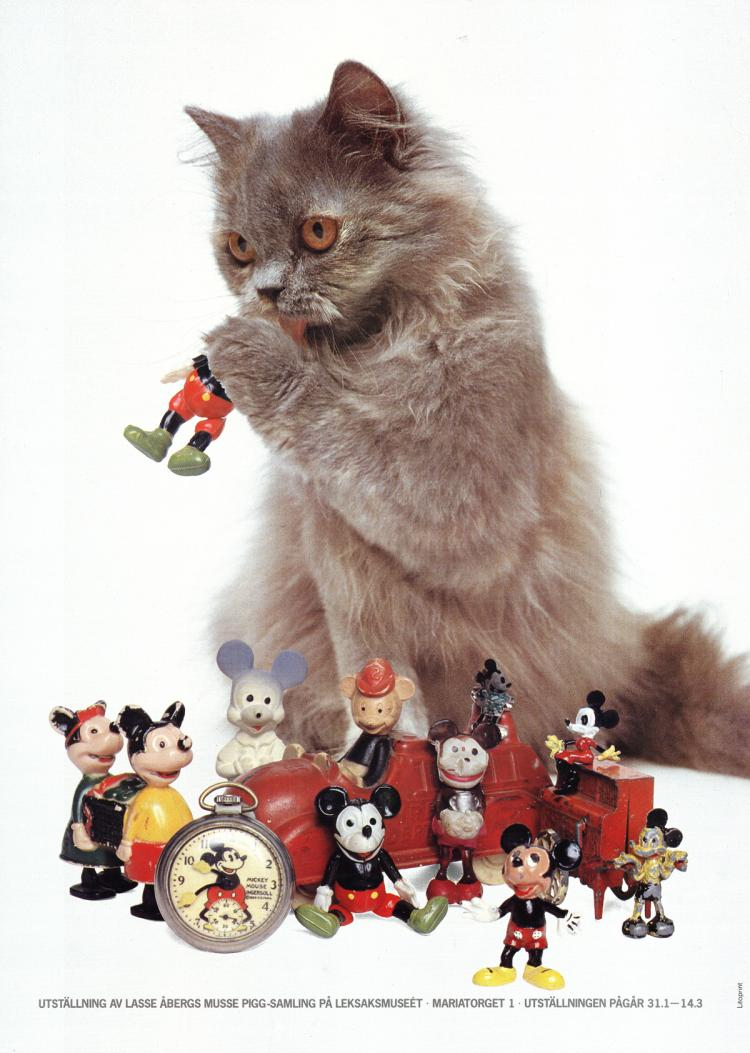 Cat and Mickey Mouse Toys
