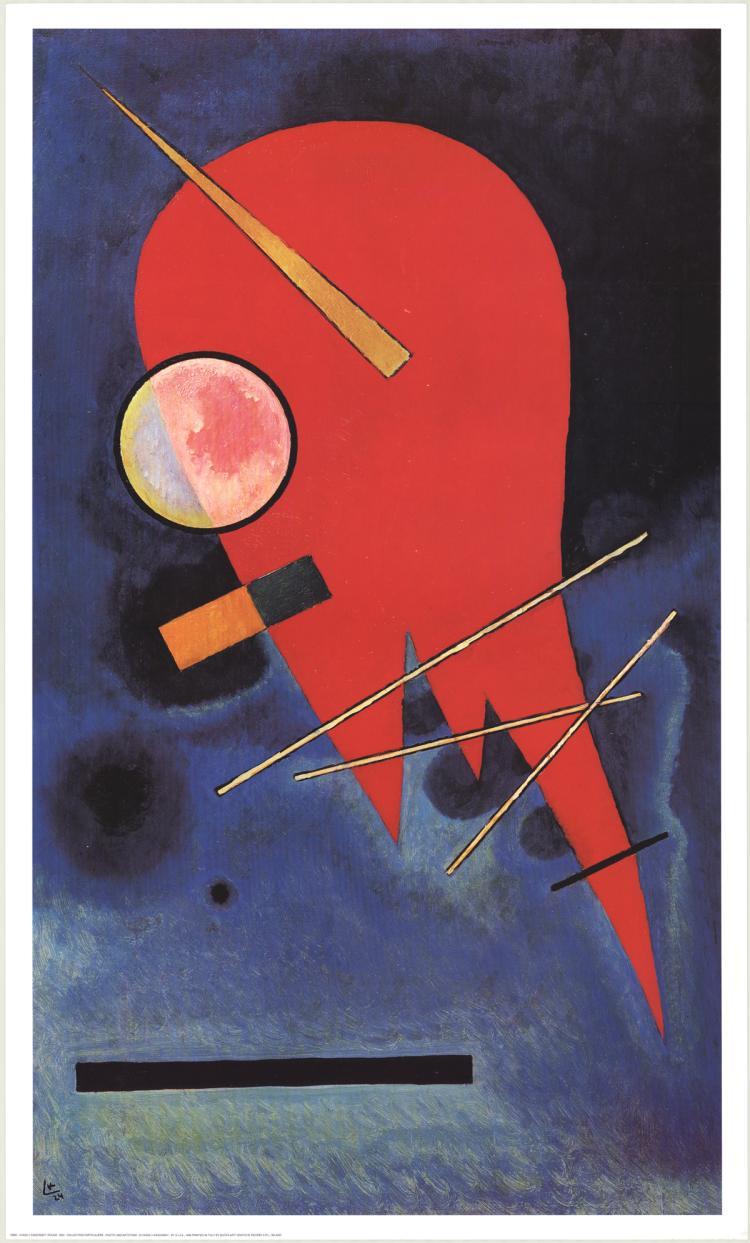 Wassily Kandinsky - Rouge - 1996
