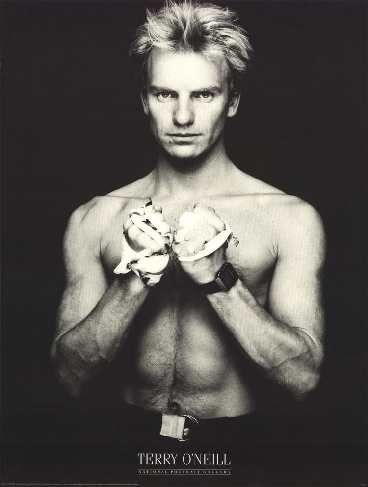 Terry O'Neil - Sting (Gordon Sumner) - 1984