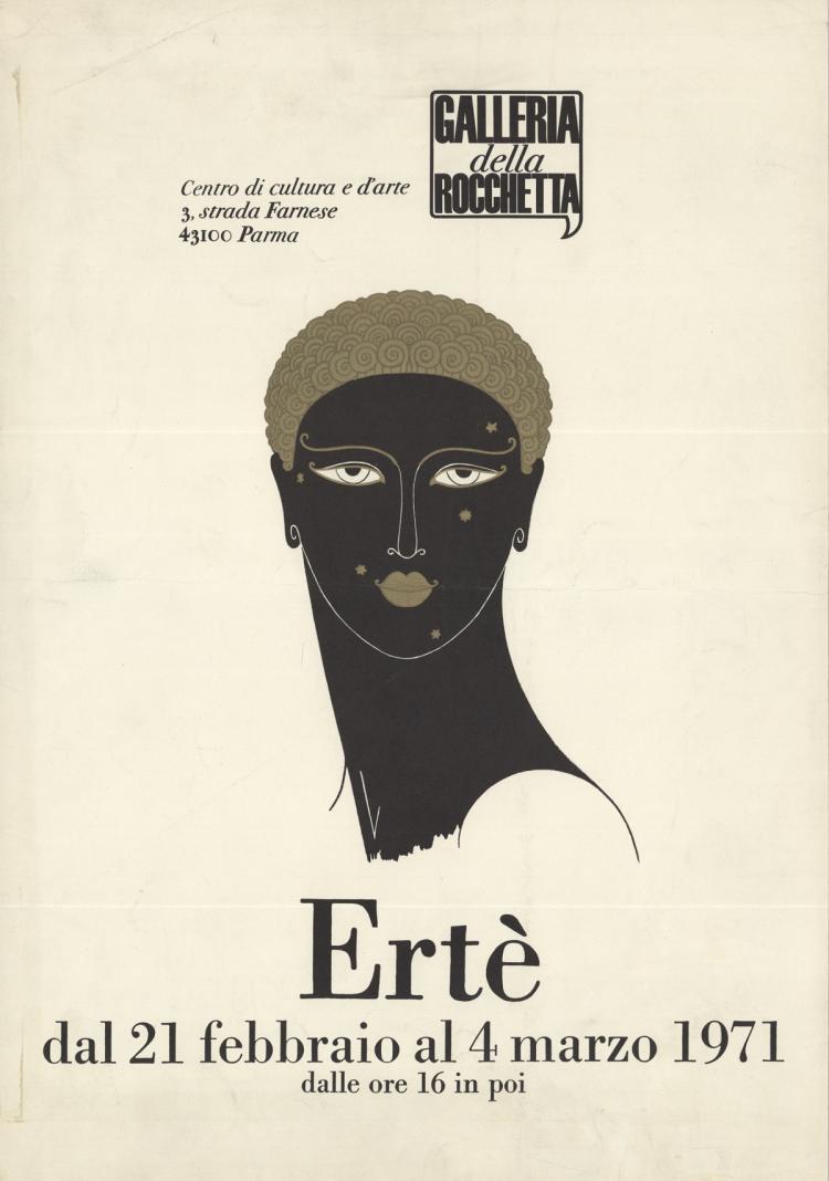 Erte - Galleria della Rocchetta - 1971