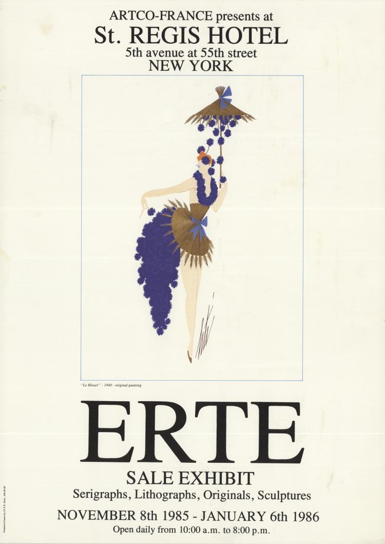 Erte - Le Bleuet - 1986