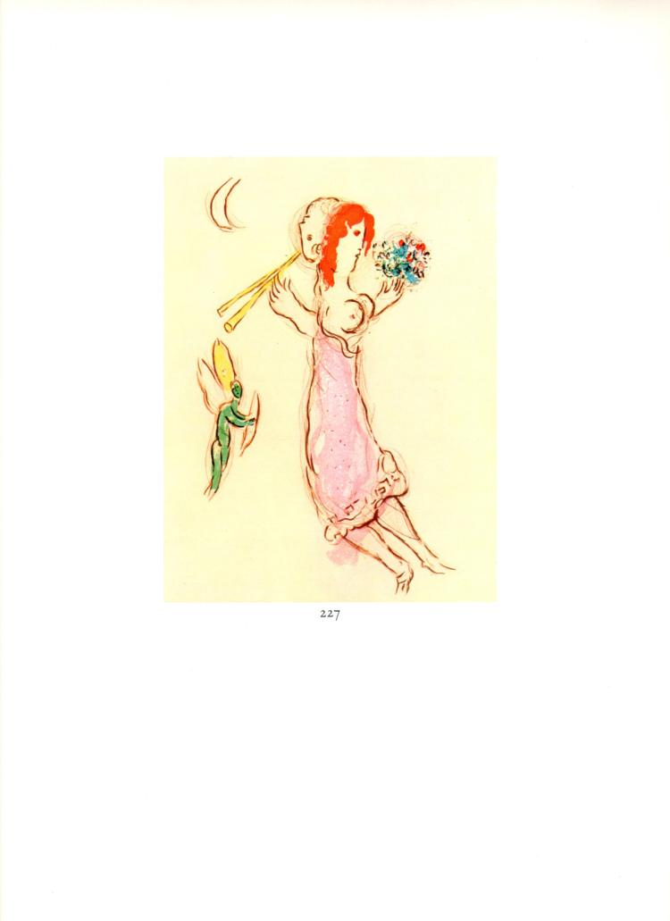 Marc Chagall - Daphne et Chloe - 1963