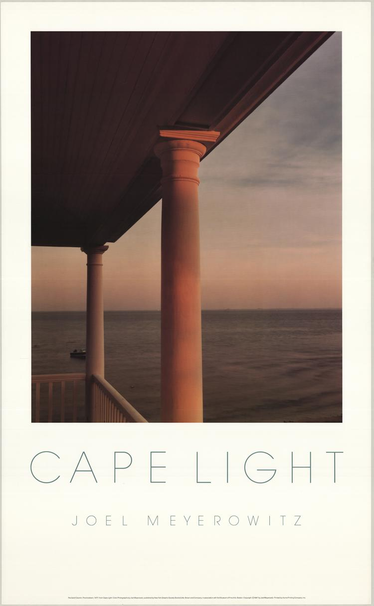 Joel Meyerowitz - The Gold Column, Provincetown - 1987