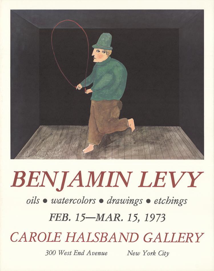 Benjamin Levy - Carole Hasband Gallery - 1973