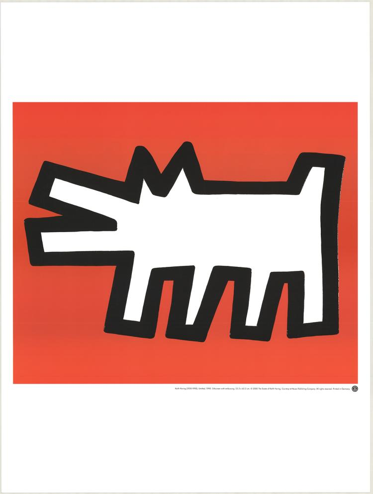 Keith Haring - Untitled (1990) - 2000