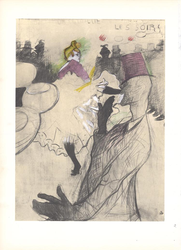 Henri de Toulouse-Lautrec - La Goulue (Musee d'Albi) - 1966