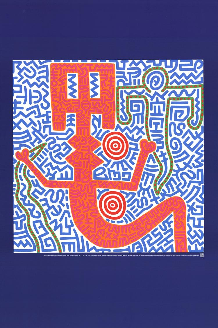Keith Haring - Untitled (1984) - 1990