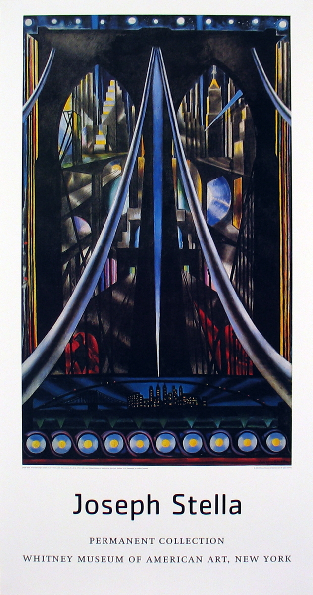 Joseph Stella - The Brooklyn Bridge, Variation on an old theme