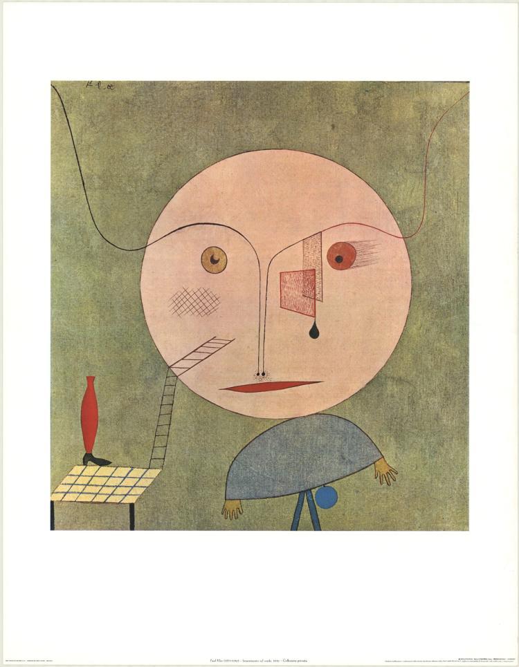 Paul Klee - Smarrimento sul Verde