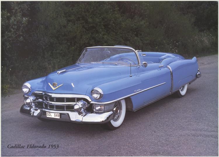 Forlag Hakan Eriksson - Cadillac Eldorado 1953
