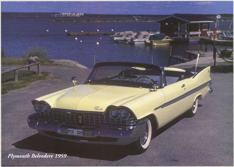 Forlag Hakan Eriksson - Plymouth Belvedere 1959