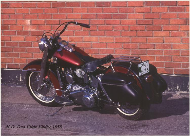 Forlag Hakan Eriksson - Harley Davidson Duo-Glick 1200c 1958