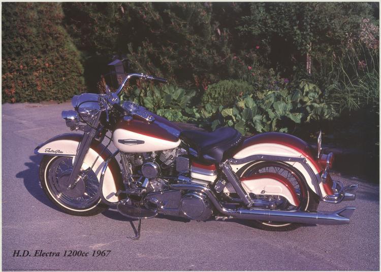 Forlag Hakan Eriksson - Harley Davidson Electra 1200c 1967