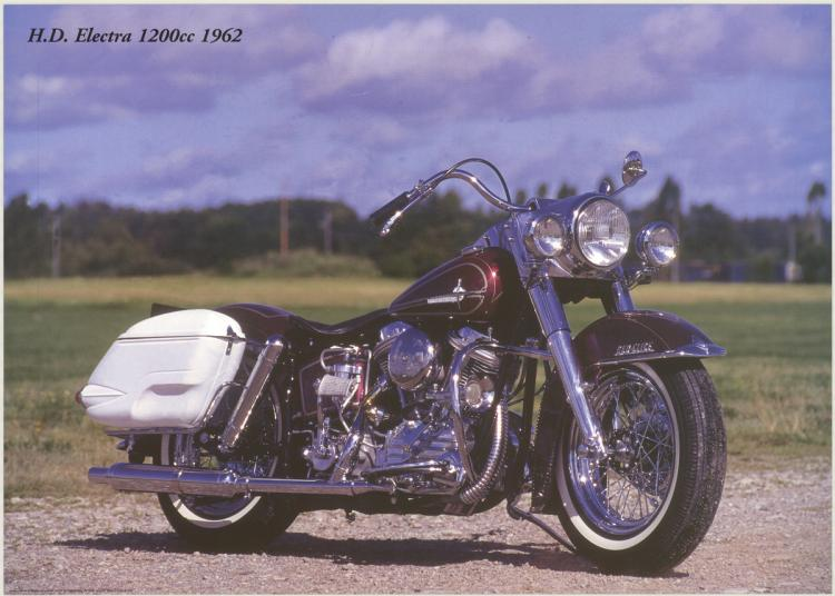 Forlag Hakan Eriksson - Harley Davidson Electra 1200c 1962