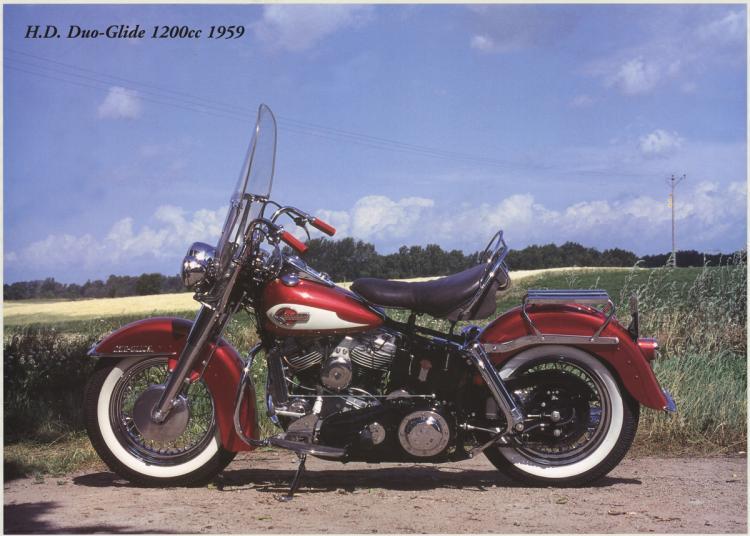 Forlag Hakan Eriksson - Harley Davidson Duo-Glide1200c 1959