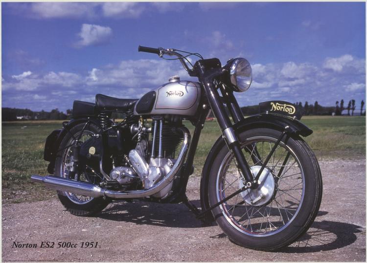 Forlag Hakan Eriksson - Norton Es2 500cc 1951