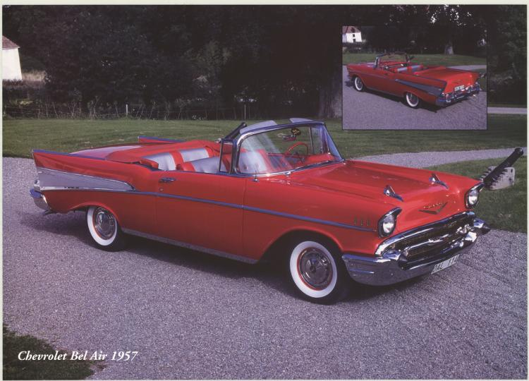 Forlag Hakan Eriksson - Chevrolet Bel Air 1957