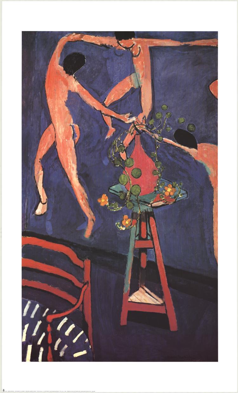 Henri Matisse - Capucines a  la danse - 1993