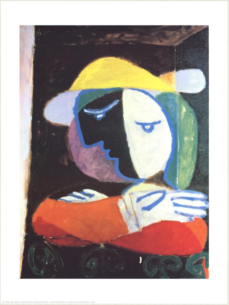 Pablo Picasso - Femme au Balcon - 1994