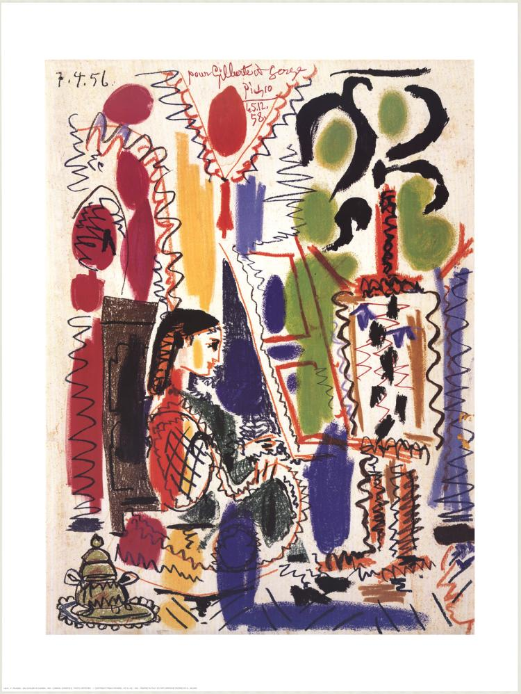 Pablo Picasso - Das Atelier in Cannes - 1994