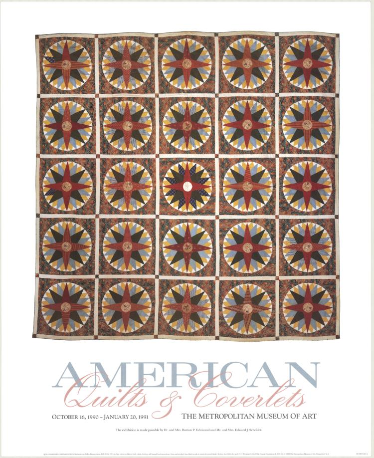 Barbara Ann Miller - Quilt Mariners Compass Pattern - 1990