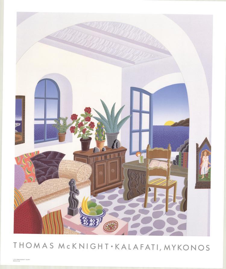 Thomas McKnight - Kalafati, Mykonos - 1991