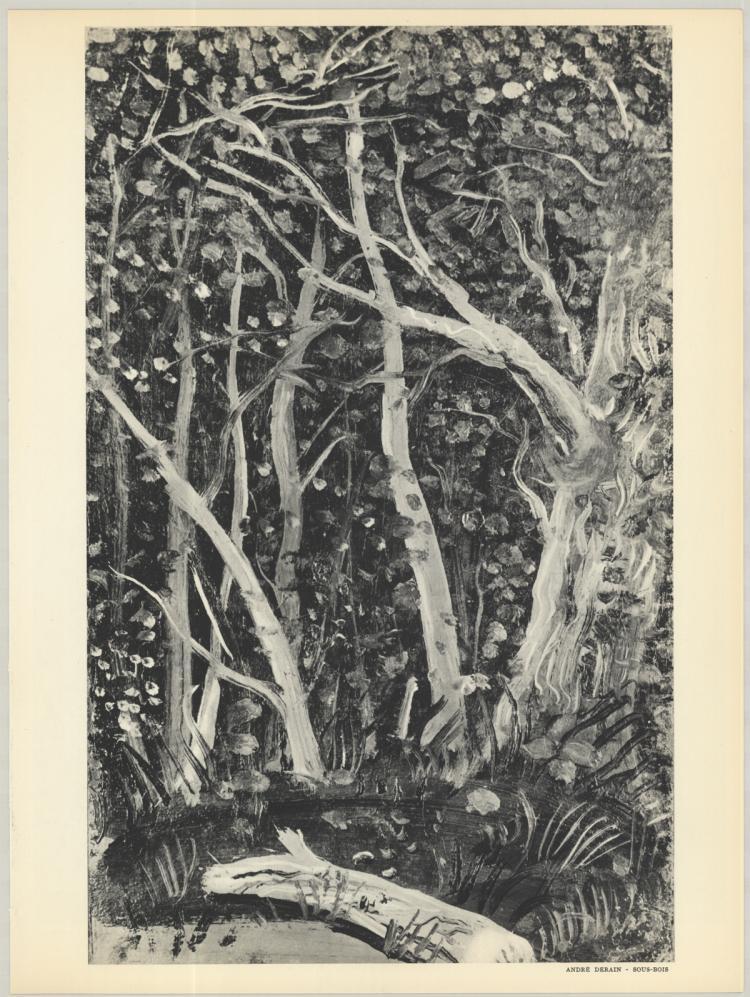 Andre Derain - Sous-Bois - 1953