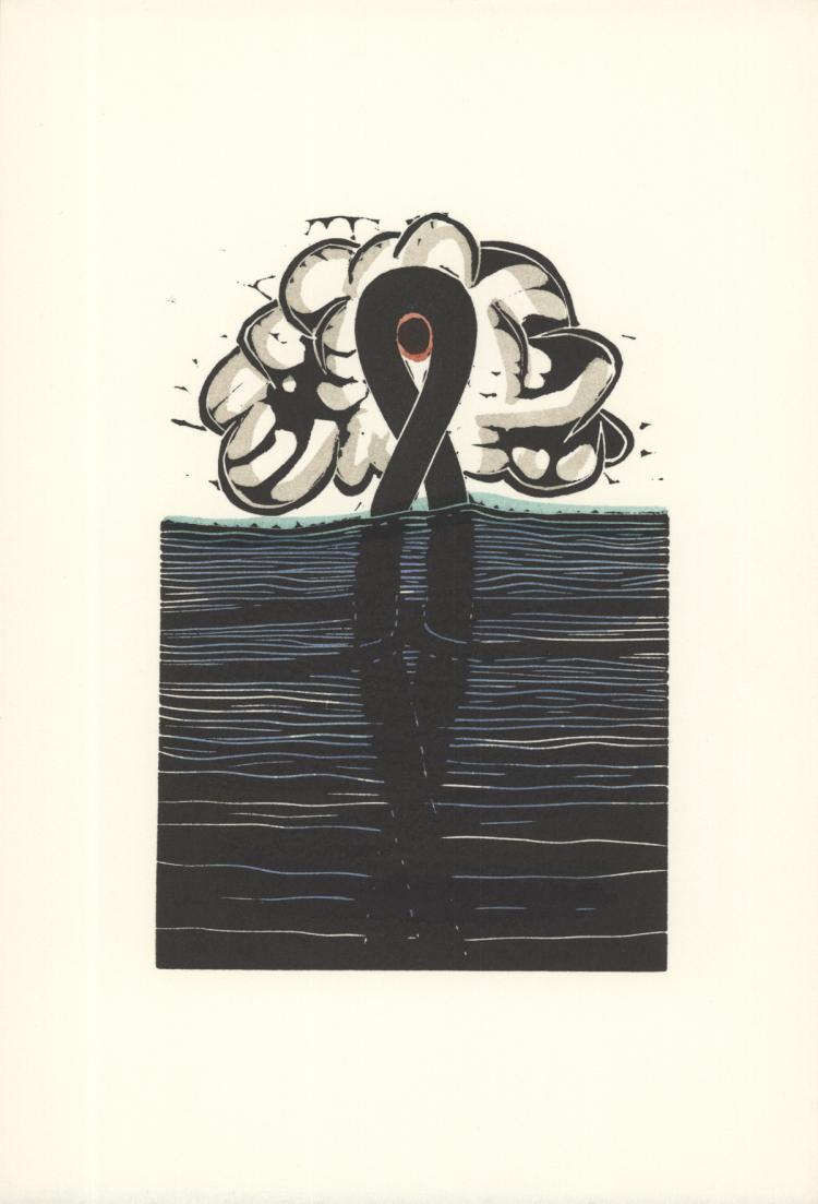 George Nama - Water III - 1973