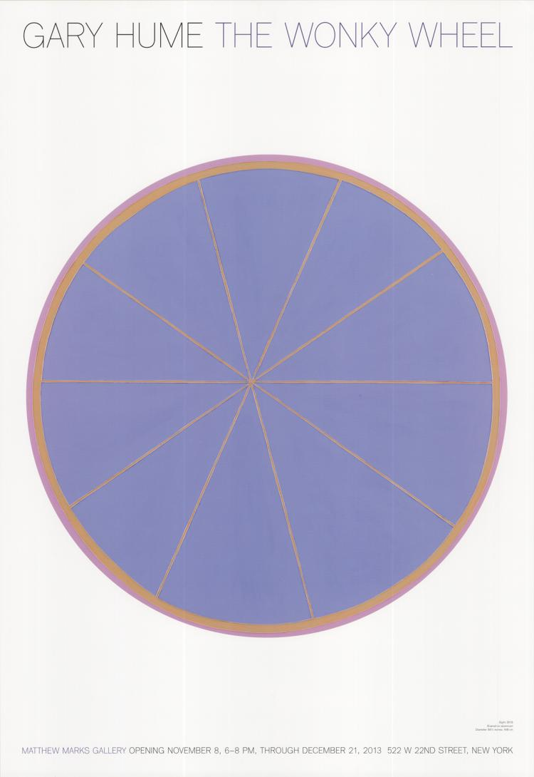 Gary Hume - The Wonky Wheel - 2013