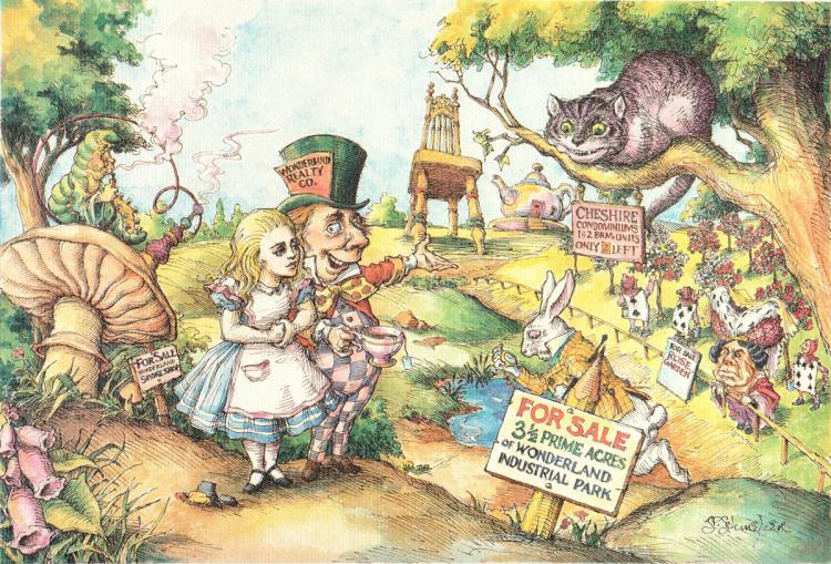 Schweber - Alice Buying Wonderland - 1985