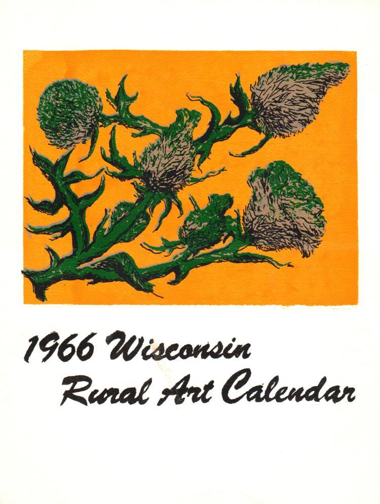 Phyllis Baumgartner - Cirsium Lancealatum - 1966