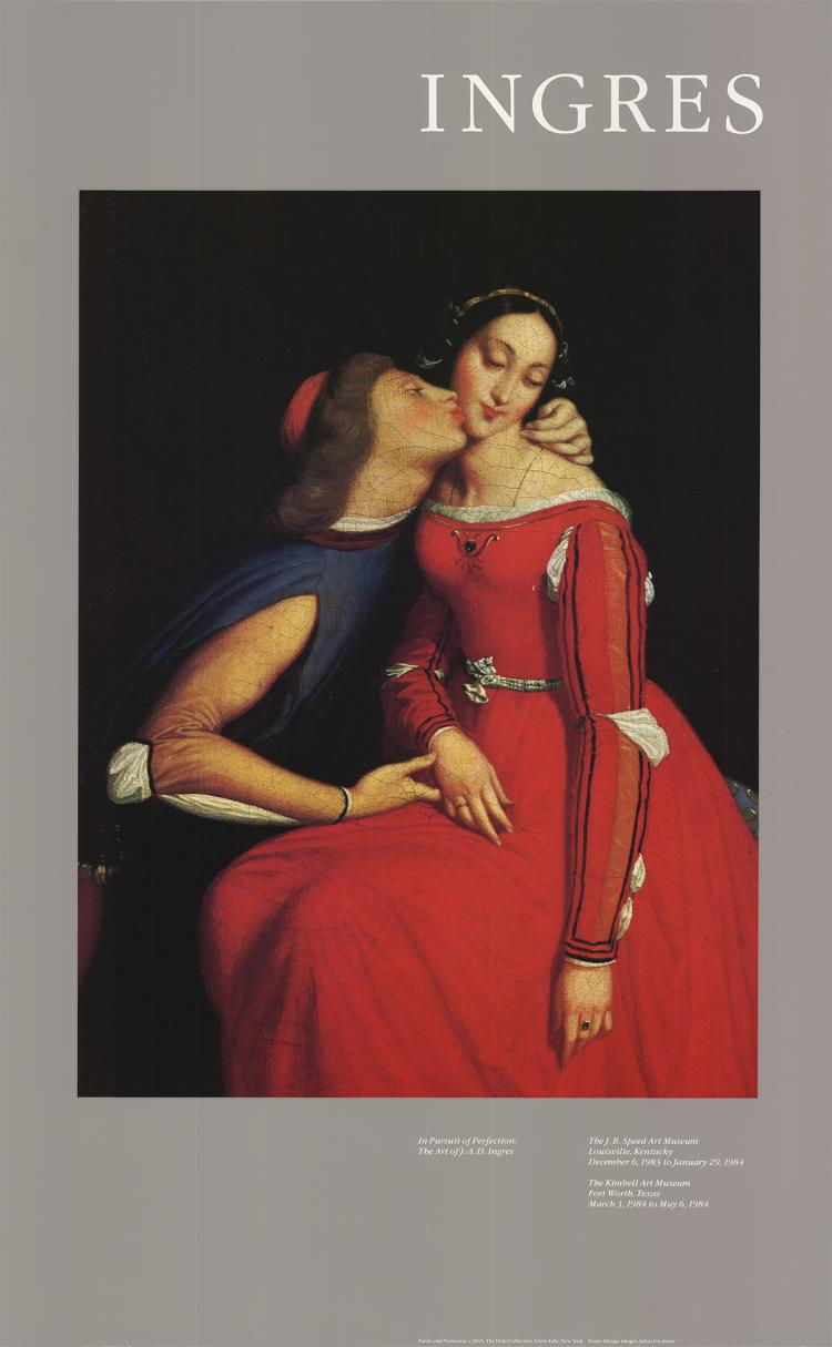 Ingres - Paolo and Francesca - 1983