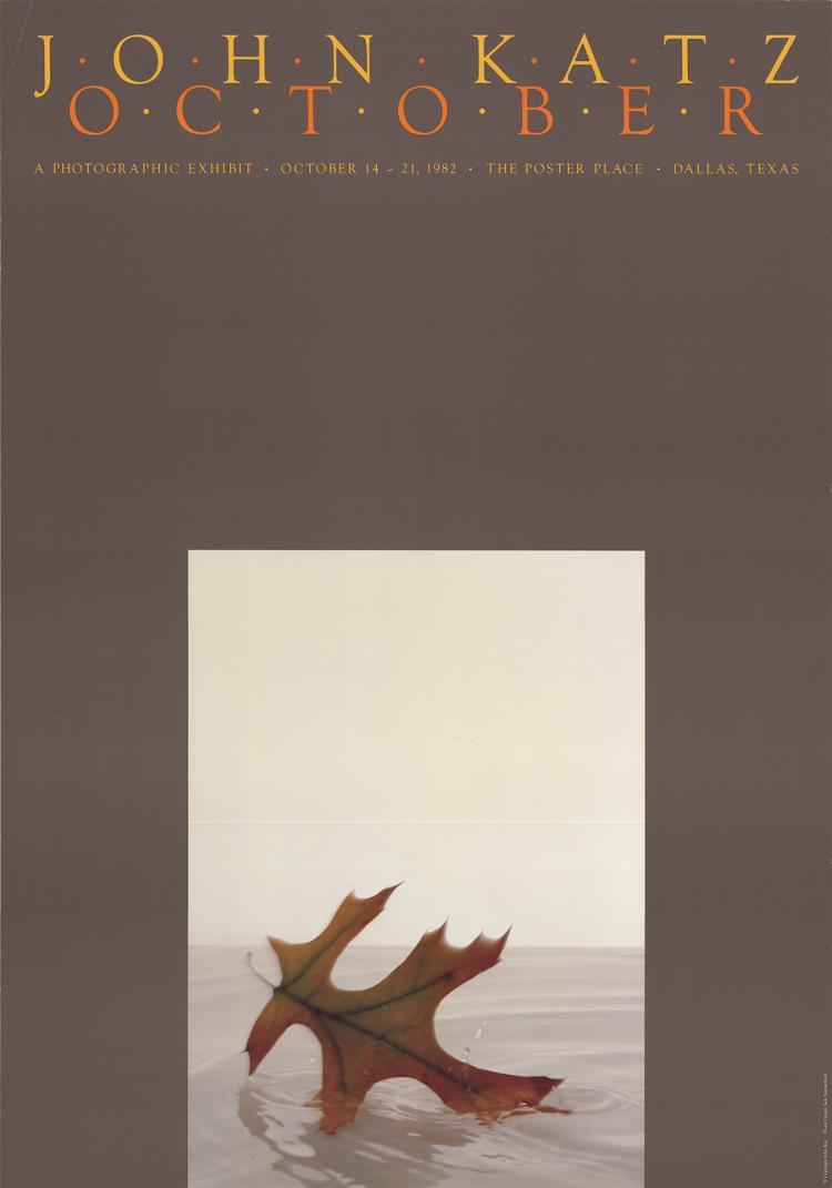 John Katz - October - 1982
