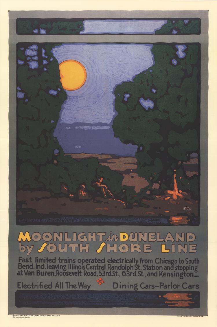 Leslie Ragan - Moonlight in Duneland - 1998
