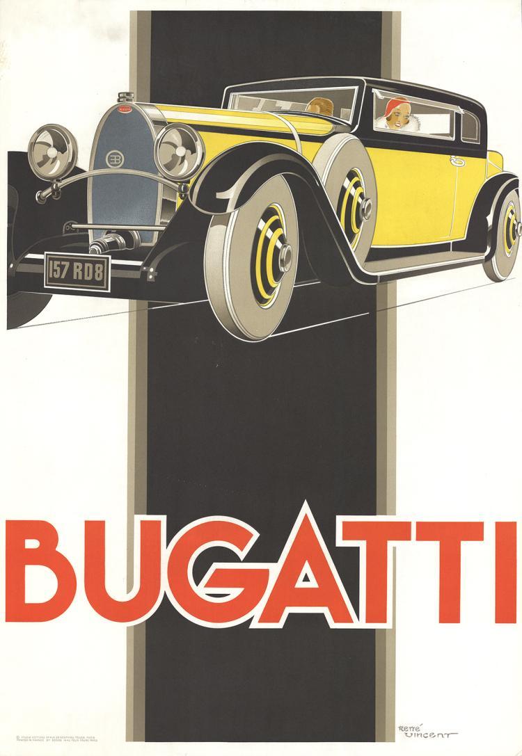 Rene Vincent - Bugatti - 1980