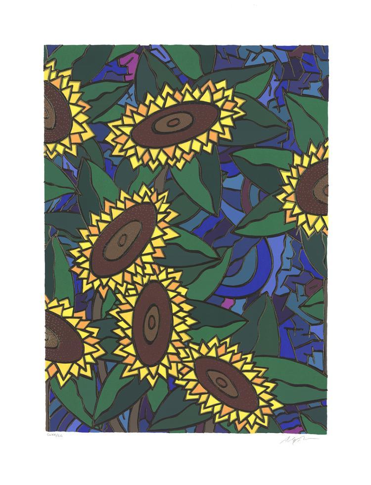 Alex Echo - Sunflower - 1992 - SIGNED