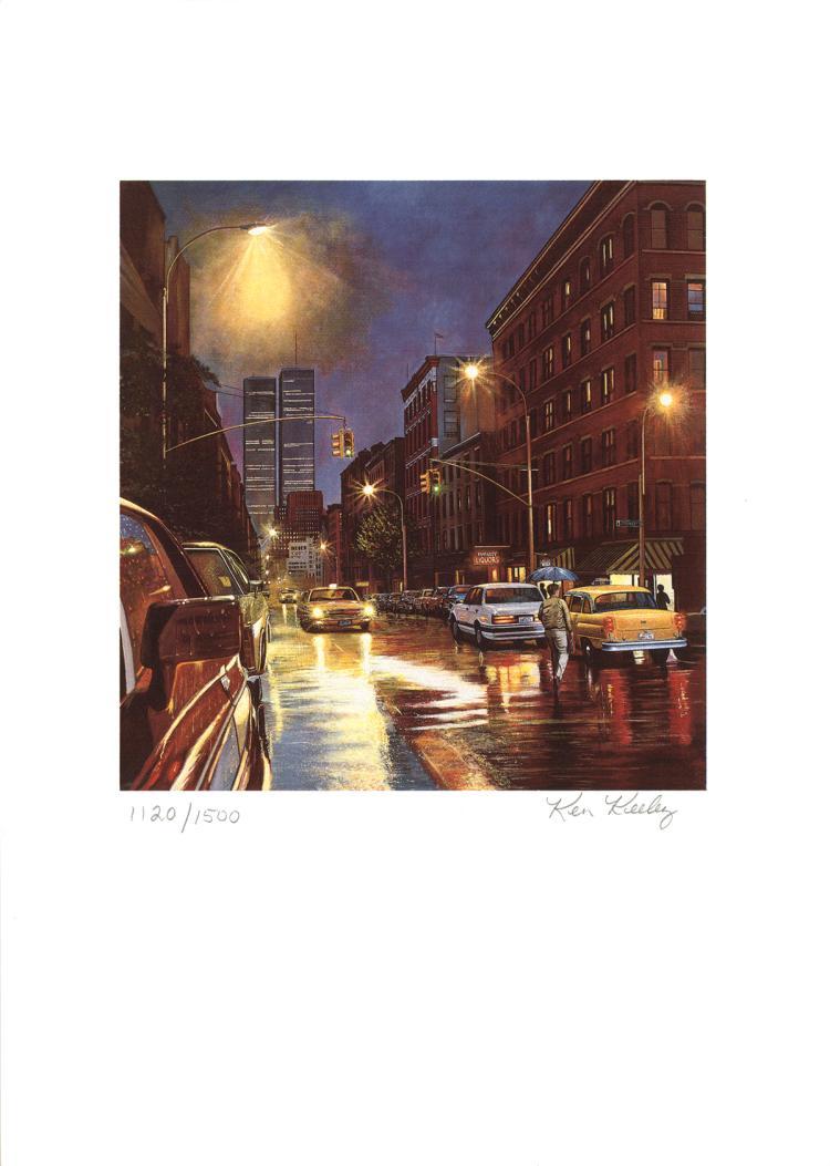 Ken Keeley - Prince Street - SIGNED