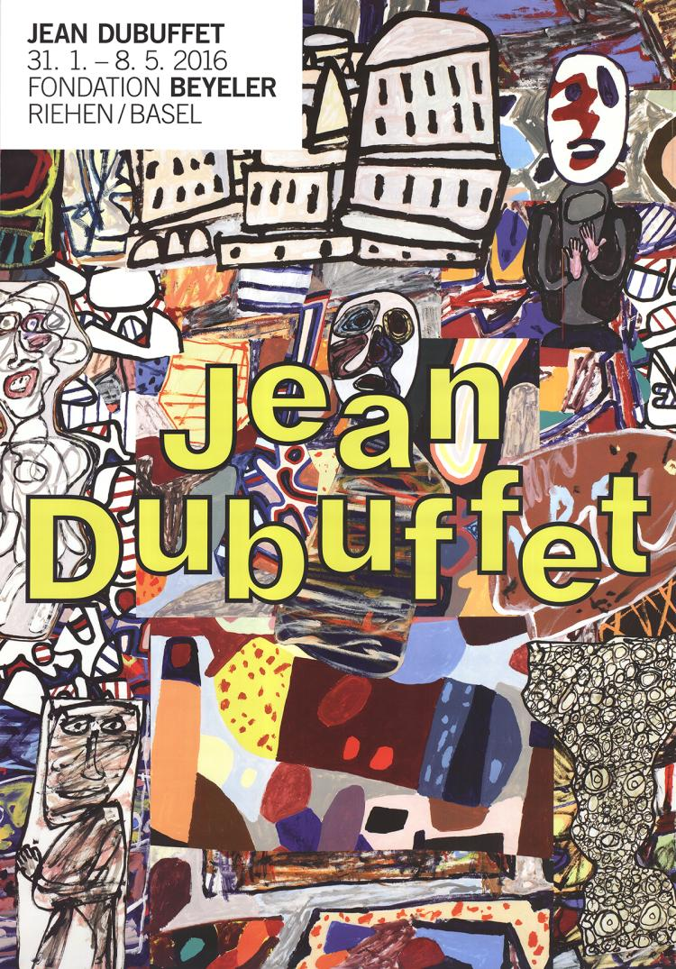 Jean Dubuffet - Mele Moments - 2016