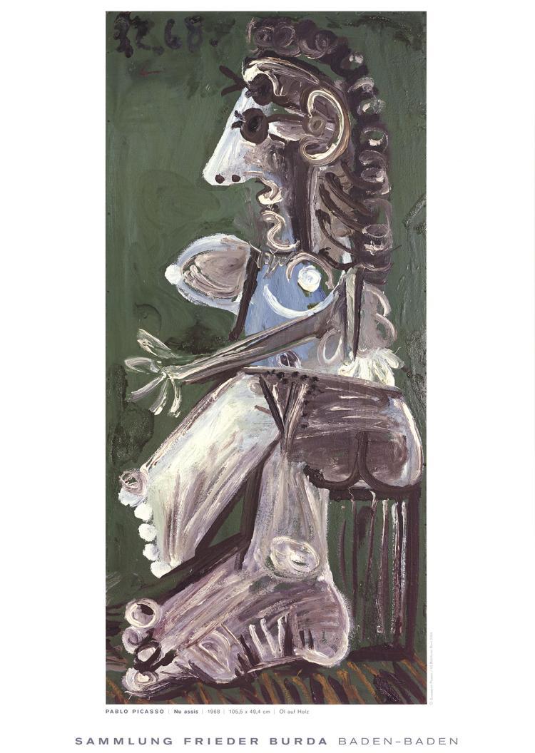 Pablo Picasso - Nu Assis - 2004