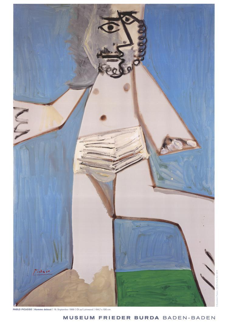 Pablo Picasso - Homme Debout - 2014