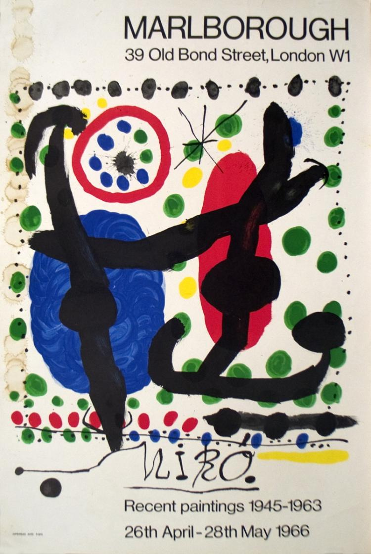 Joan Miro - Recent Paintings 1945-1963 - 1966