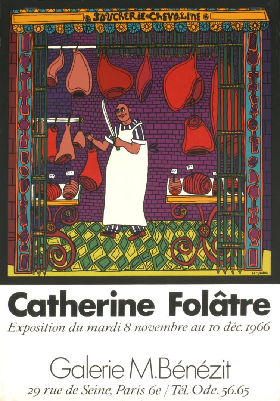 Catherine Folatre - Boucherie Chevaline - 1966